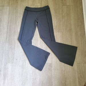 Lululemon Gray Flare Leg Yoga Pants